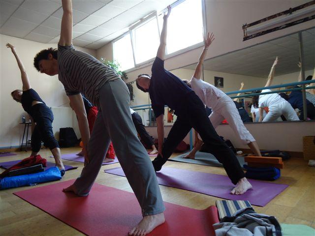 Atelier Yoga Fluide avec Birgit