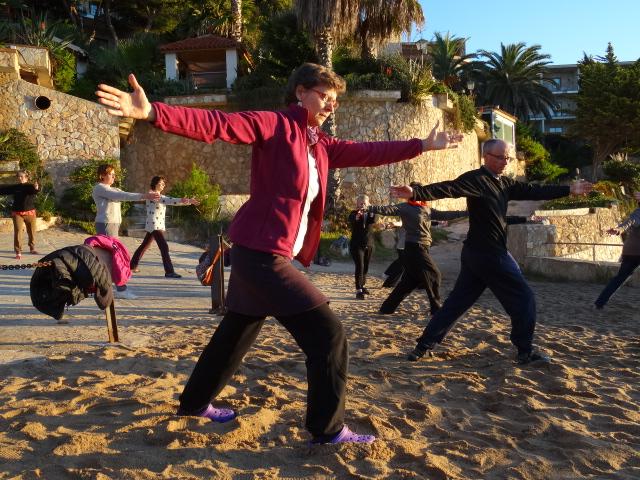 Pratique matinale San Feliu 2015