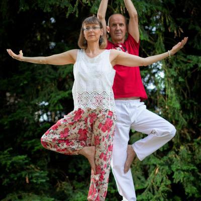 Centre yoga equilibre posture de l arbre 2
