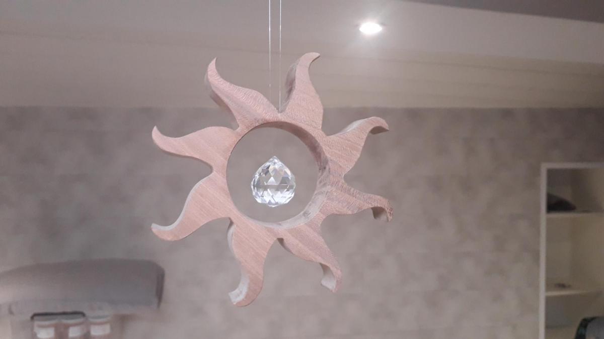 Soleil et cristal